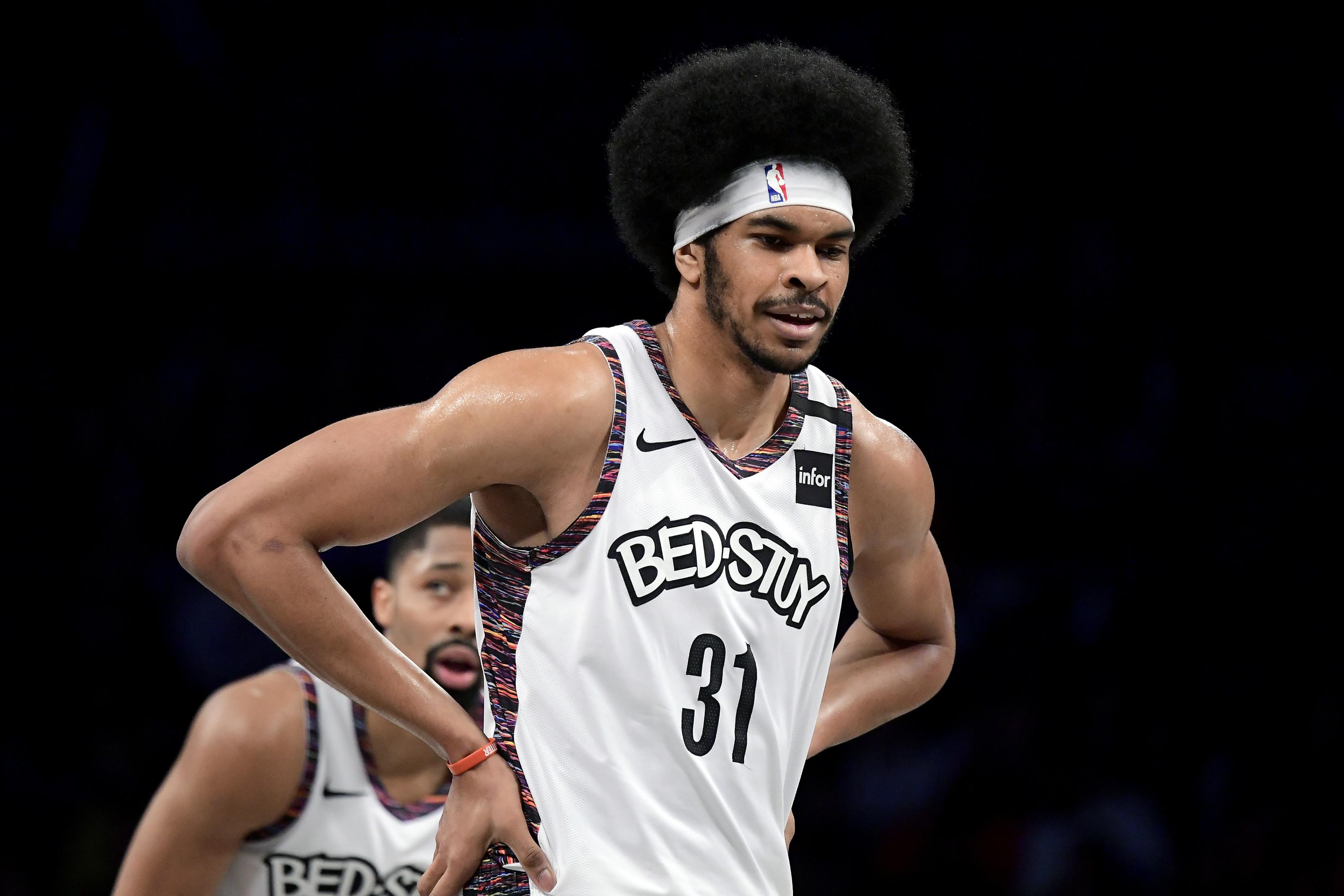 NBA Big Men/'s Brooklyn Nets Muscle Tee Shirt White