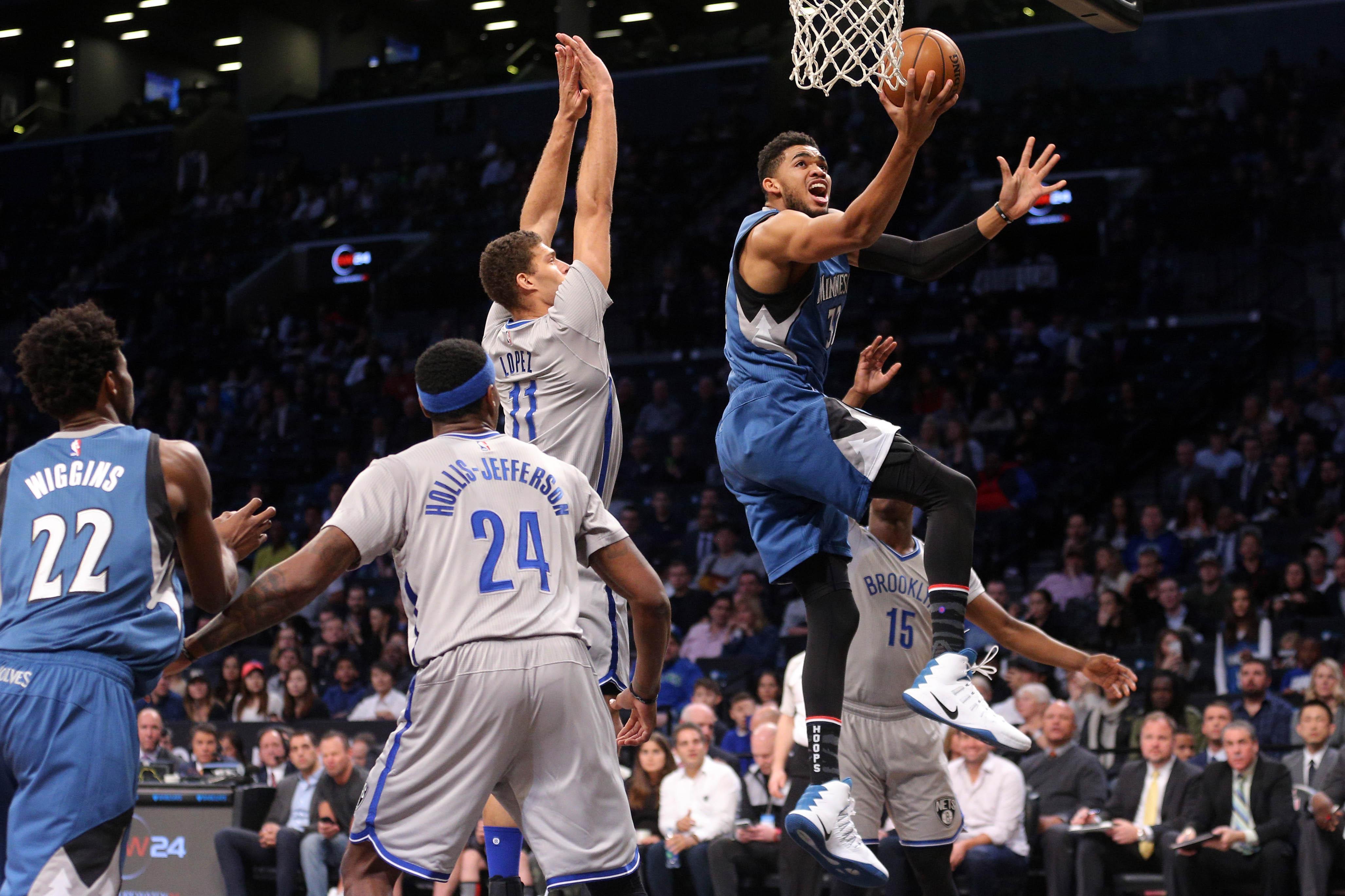 d164be295 Brooklyn Nets vs. Minnesota Timberwolves Pre-Game Report 1 28 17