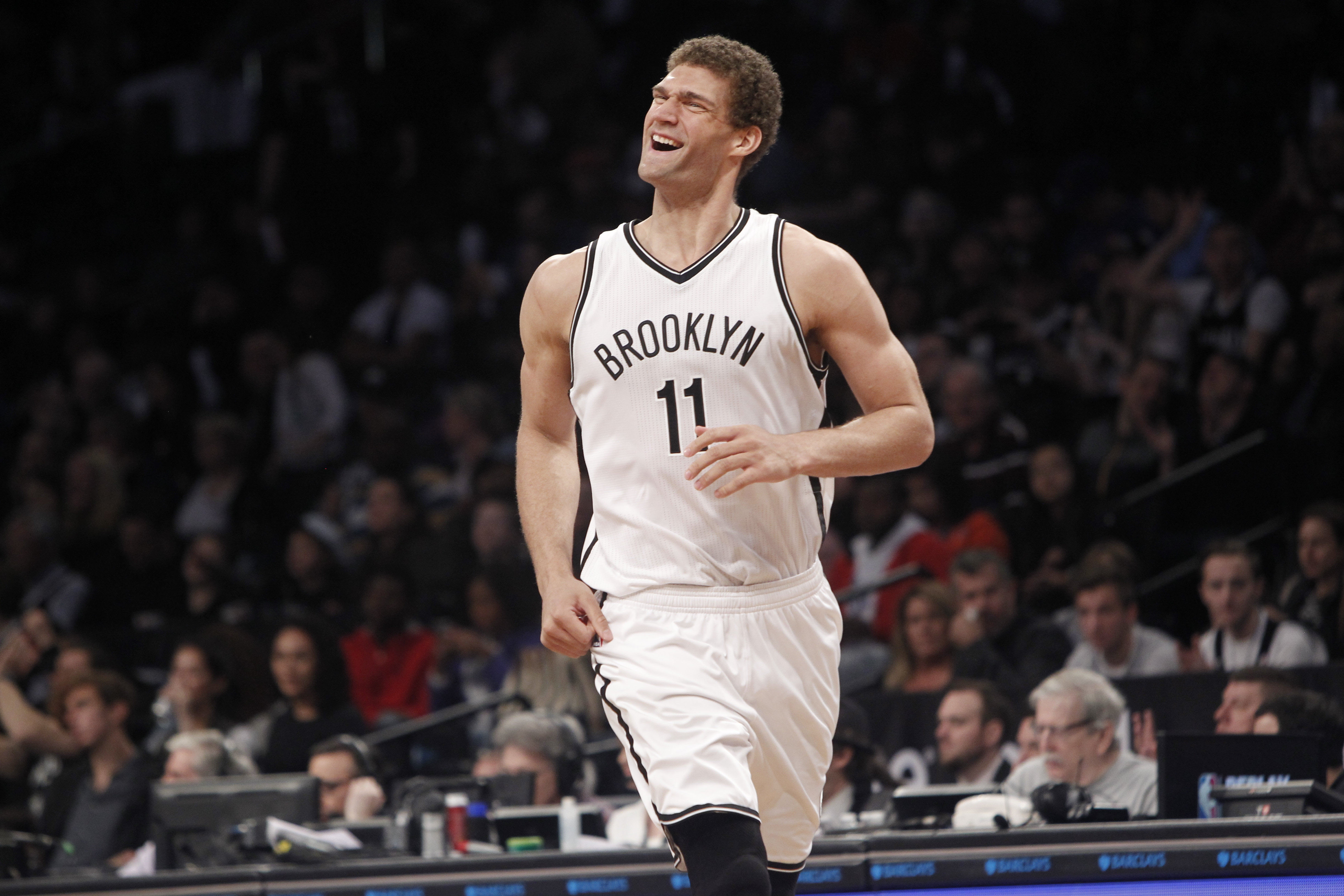 detailed look 87b4f 19ef6 Brooklyn Nets 2016-17 Player Grades: Brook Lopez